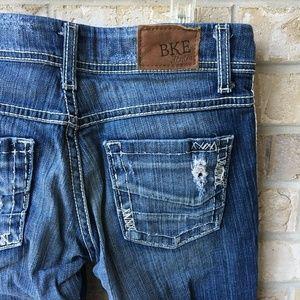 BKE Denim Culture Bootcut Distressed Jeans 25 R